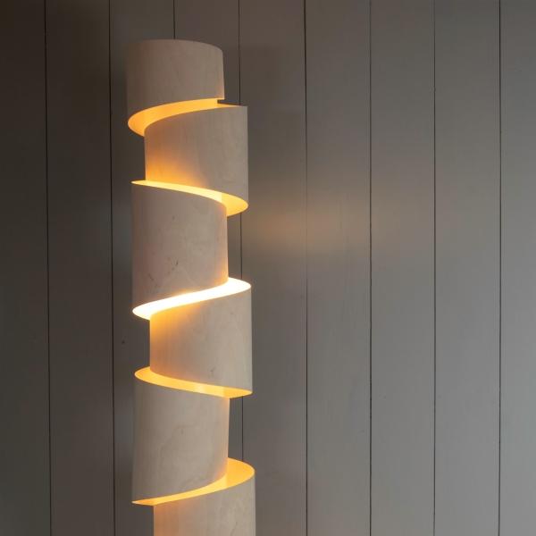Stuart Lamble Stepp Floor Lamp 6ft Stuart Lamble Designs Illustrated Living